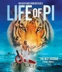 BLU-RAY MOVIE LIFE OF PI