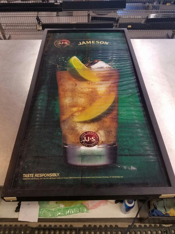 JAMESON IRISH WHISKEY Sign MIRROR