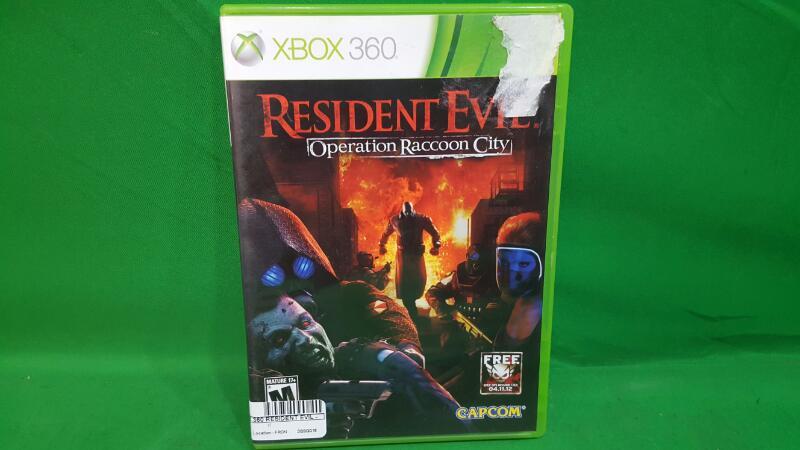 CAPCOM Microsoft XBOX 360 Game RESIDENT EVIL - OPERATION RACCOON CITY