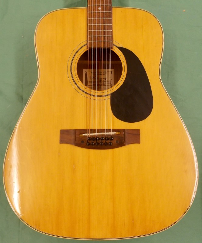 HARMONY Acoustic 12 String Guitar SOVEREIGN
