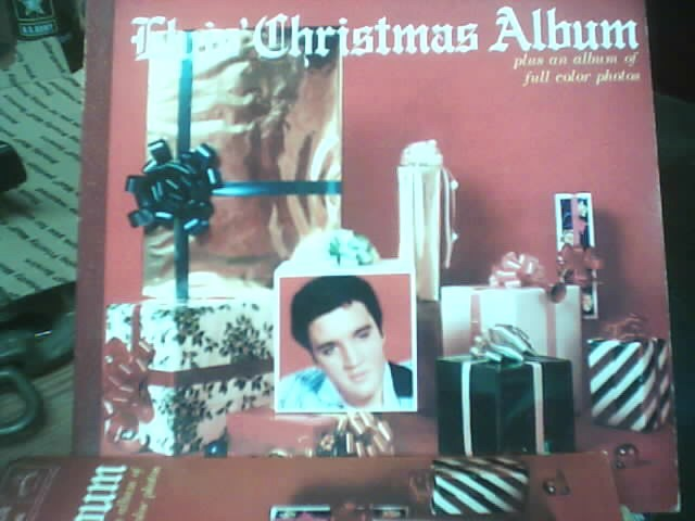 RCA Entertainment Memorabilia ELVIS CHRISTMAS ALBUM