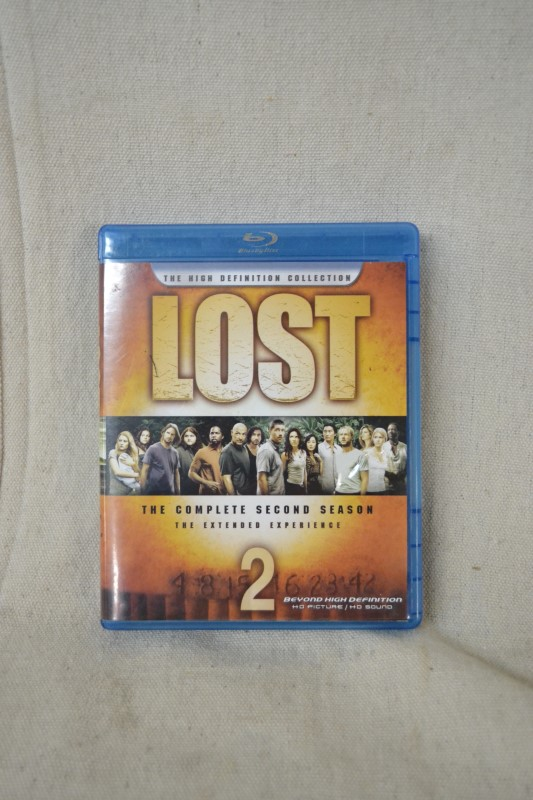 DVD BOX SET DVD LOST THE COMPLETE SECOND SEASON THE EXTENDED EXPER