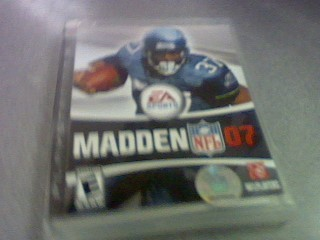 SONY Sony PlayStation 2 Game MADDEN 07
