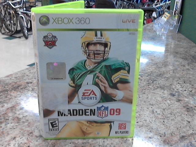 MICROSOFT Microsoft XBOX 360 Game MADDEN NFL 09 - XBOX 360
