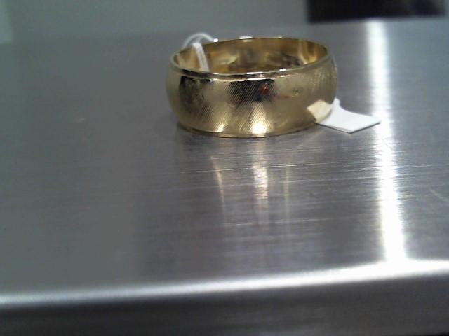 Lady's Gold Wedding Band 14K Yellow Gold 15.5g