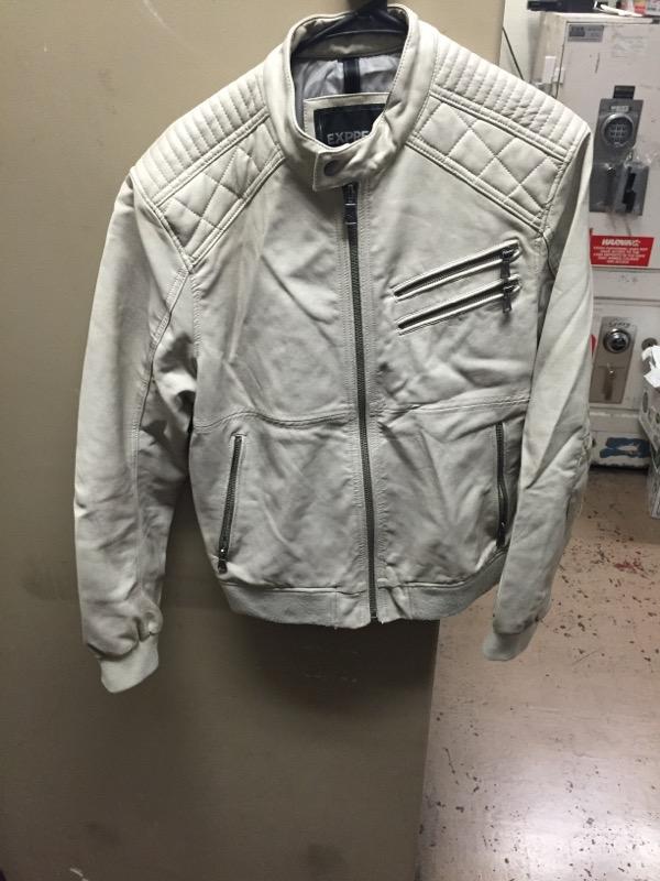 EXPRESS CLOTHING Clothing MED LEATHER JACKET