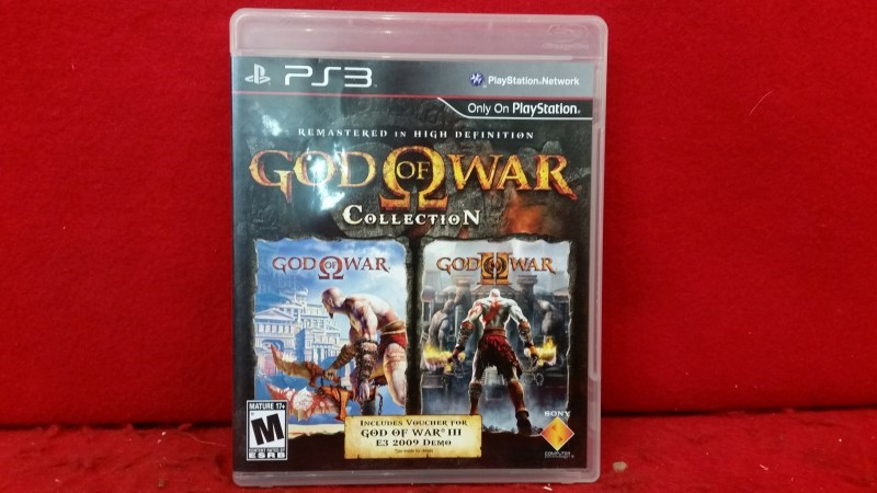 God of War Collection (Sony PlayStation 3, 2009)
