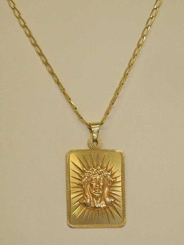 "24"" Gold Fashion Chain 10K Yellow Gold 8.3g"
