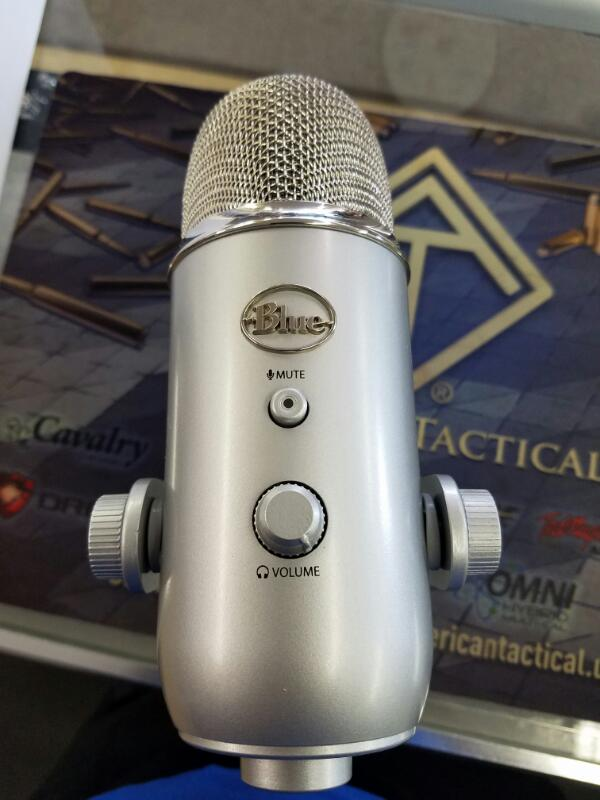 BLUE POINT Microphone YETI SILVER EDITION