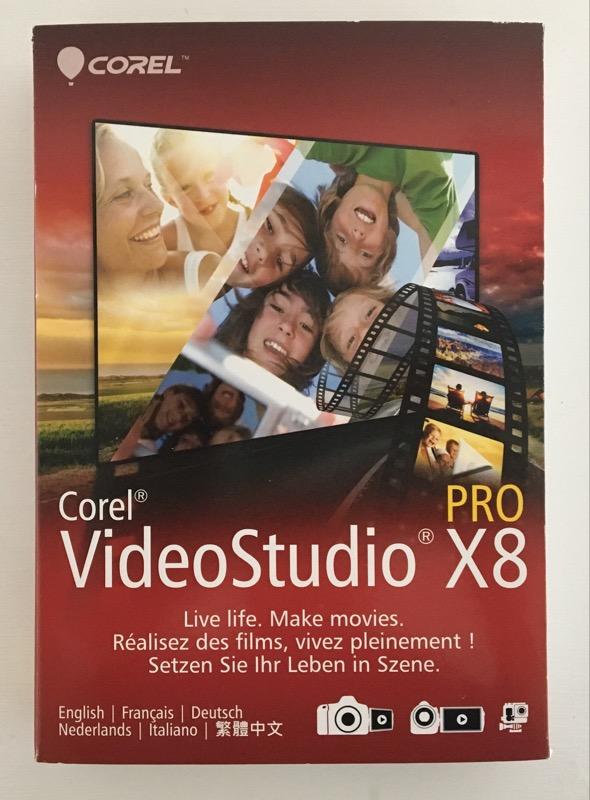 *NEW* Corel Video Studio Pro X8 for Windows