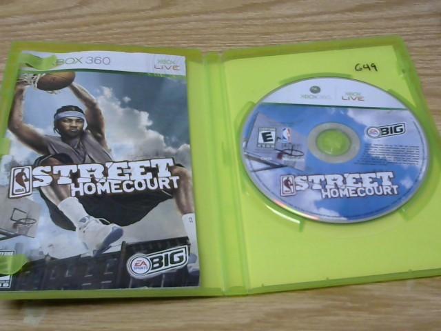 MICROSOFT Microsoft XBOX 360 Game STREET HOMECOURT