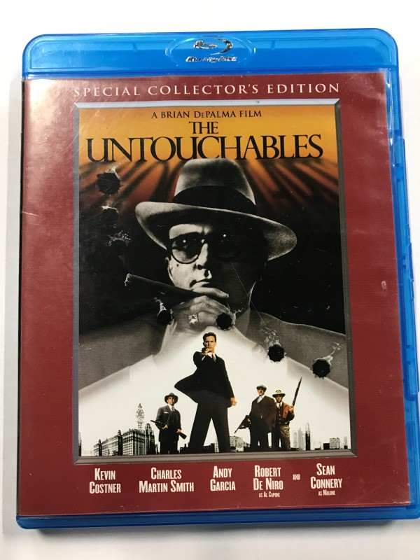 THE UNTOUCHABLES BLU-RAY MOVIE
