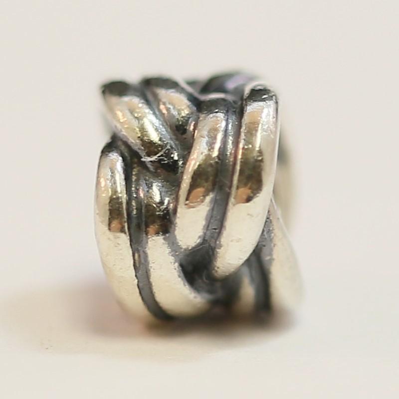 "Pandora Silver ""Forget Me Knot"" Charm"