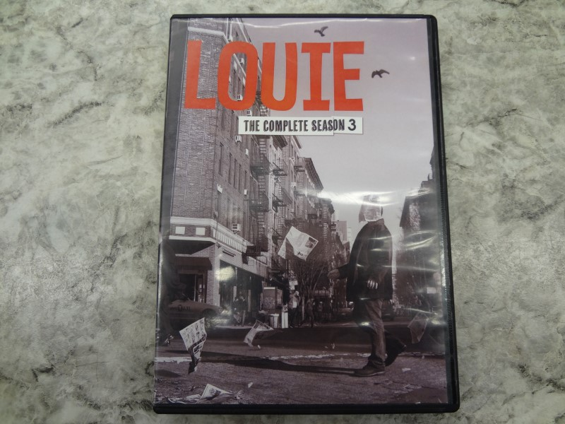LOUIE THE COMPLETE SEASON 3 DVD