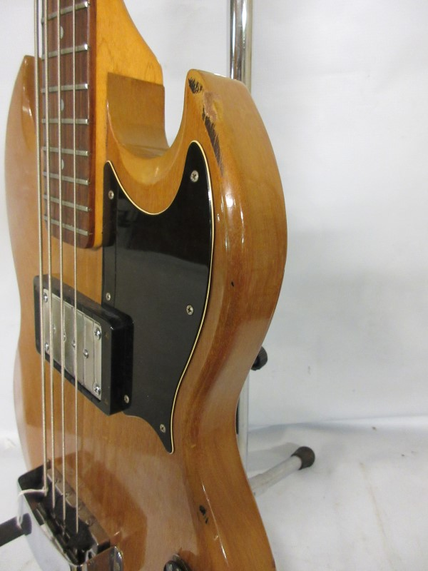 "1972 Walnut Gibson EB-0, 30 1/2"" Scale Bass."