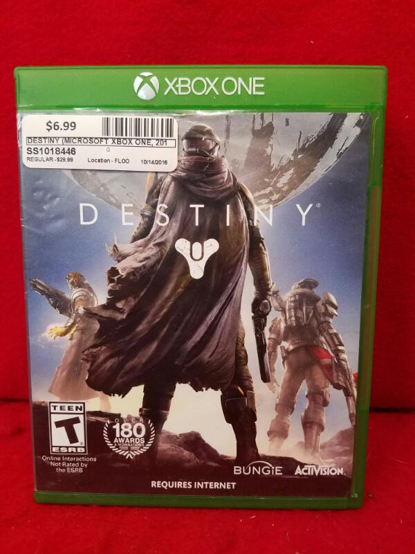 Destiny (Microsoft Xbox One, 2014)