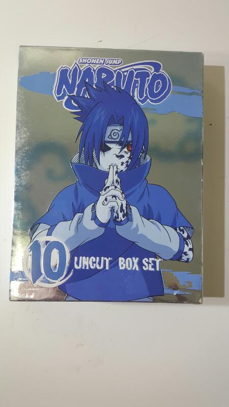 Naruto 10 Uncut DVD Box Set