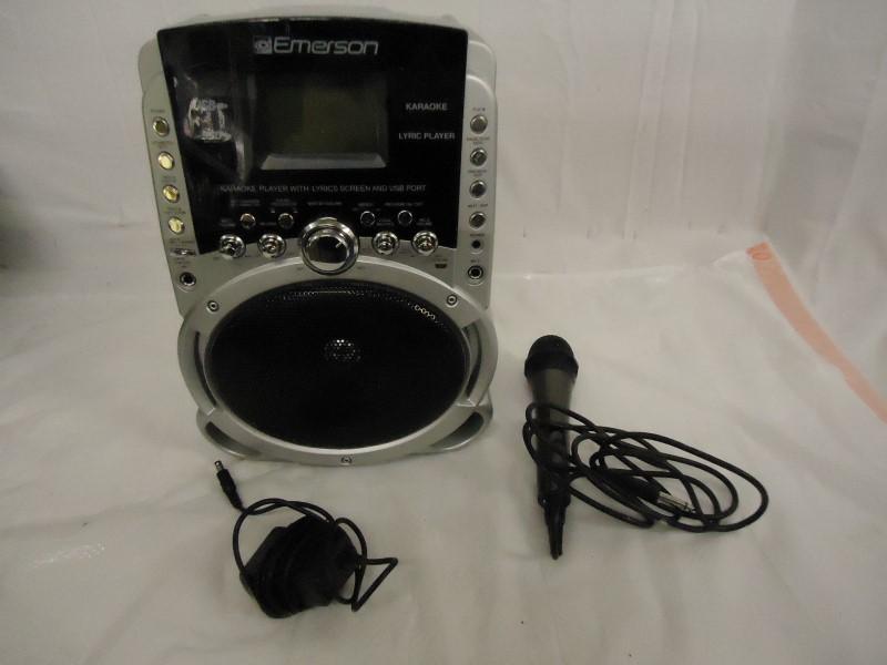 EMERSON Karaoke Machine HD515