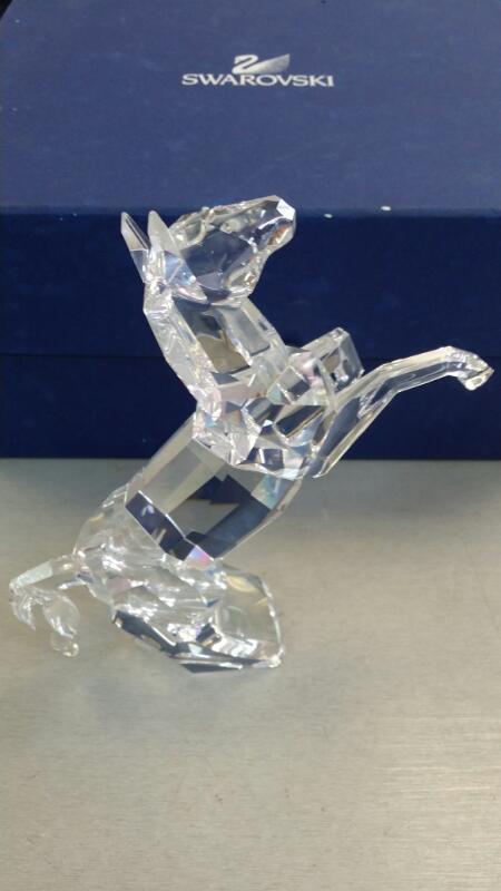 SWAROVSKI COLLECTIBLE CRYSTAL HORSE #660218
