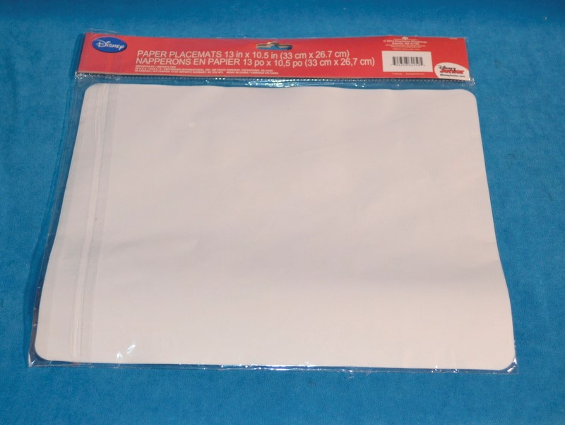 DISNEY MICKEY MOUSE CLUBHOUSE & MINNIE 12 PIECE PAPER PLACEMATS