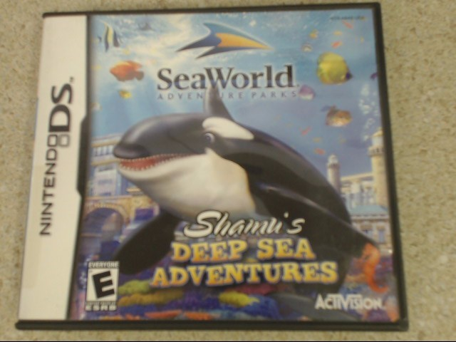 SHAMU'S DEEP SEA ADVENTURES - DS GAME