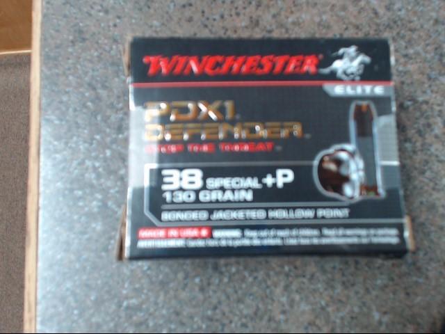 WINCHESTER Ammunition 38 SPECIAL 130 GRAIN AMMO