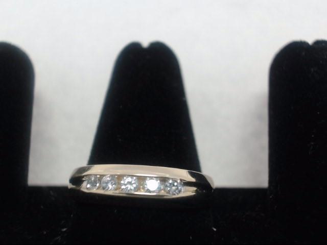 Gent's Diamond Cluster Ring 11 Diamonds .55 Carat T.W. 14K Yellow Gold 4.1g