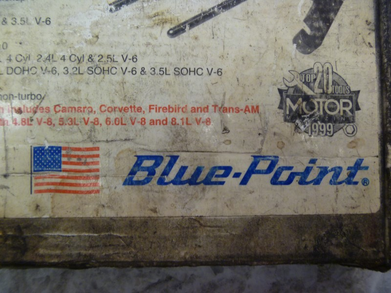 BLUE POINT YA9740B HARMONIC DAMPER PULLEY PULLER WITH ORIGINAL BOX