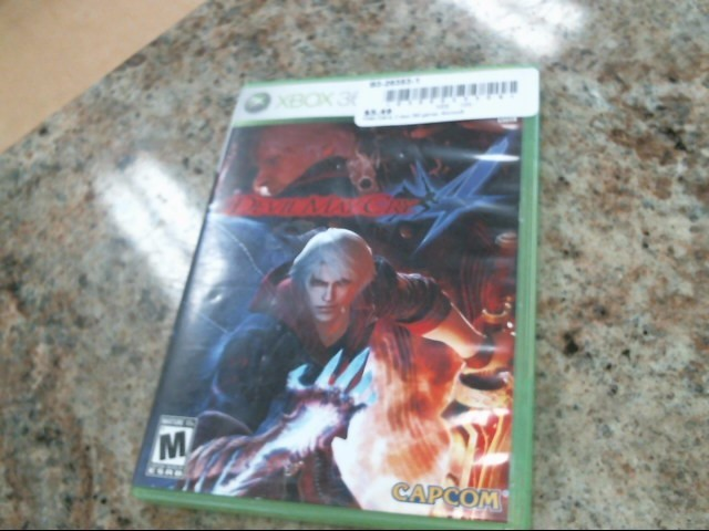 MICROSOFT Microsoft XBOX 360 Game DEVIL MAY CRY 4