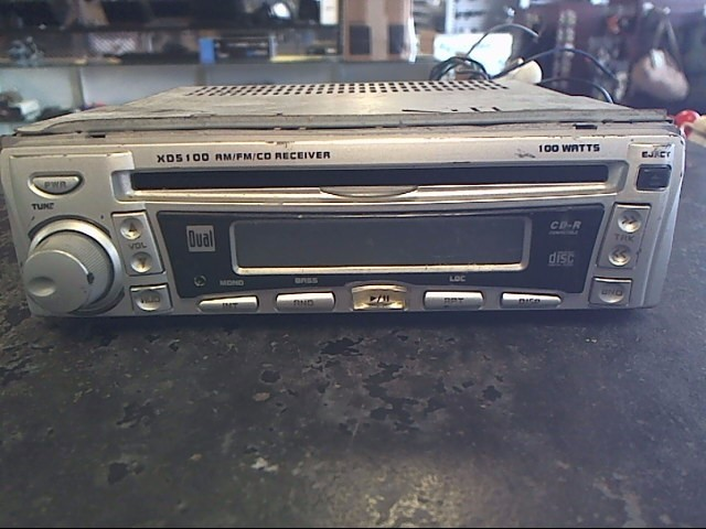 DUAL ELECTRONICS Car Audio XD-5100