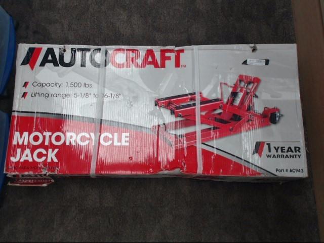 AUTOCRAFT Floor Jack MOTORCYCLE JACK AC943