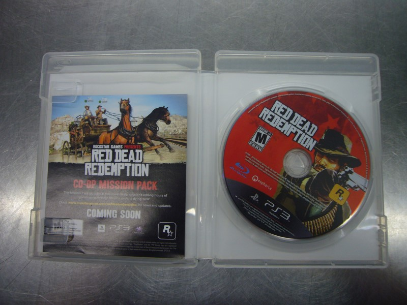 SONY PlayStation 3 Game RED DEAD REDEMPTION