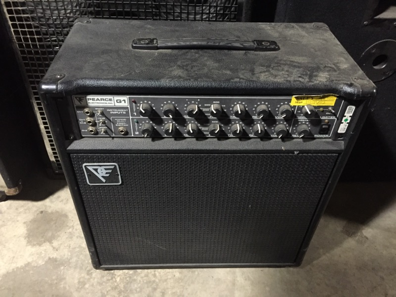 PEARCE G1B AMP S/2552