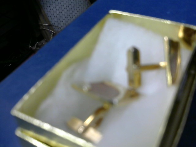 CUFF LINKS Carat T.W. 14K Yellow Gold 4.15g