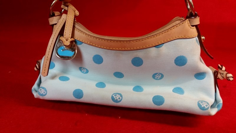 Dooney & Bourke 1975 Light Blue Women's Handbag Purse