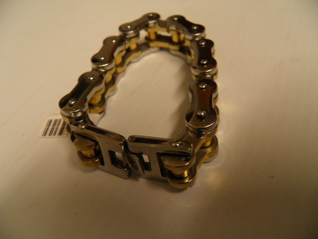 Bracelet Silver Stainless 128g