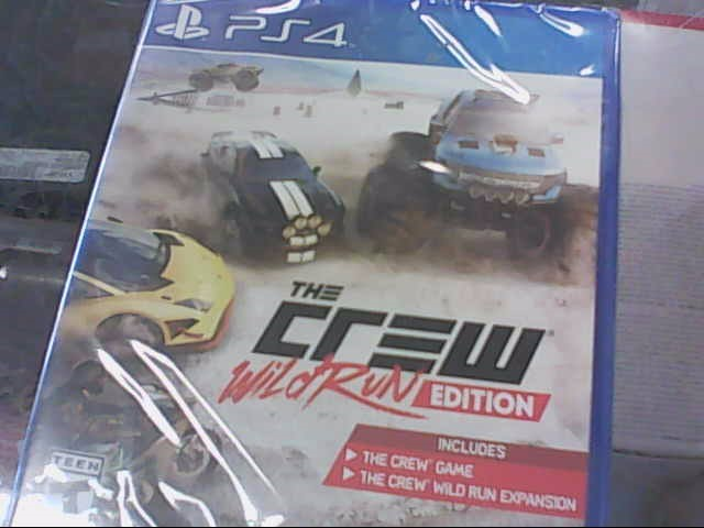 SONY Sony PlayStation 4 Game PS4 THE CREW WILD RUN EDITION