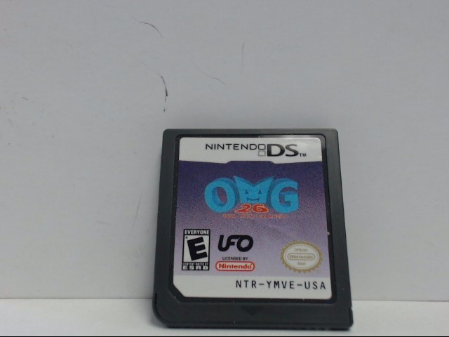 Nintendo DS Game OMG 26 MINI GAMES Cartridge Only