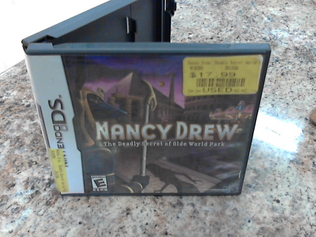 NINTENDO Nintendo DS Game NANCY DREW