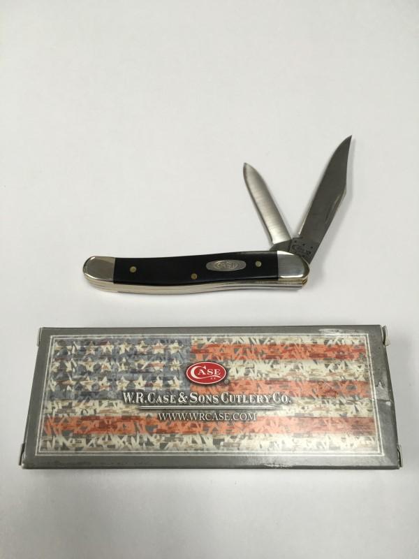 WR CASE TEXAS JACK POCKET KNIFE #00220, IN ORIGINAL BOX.