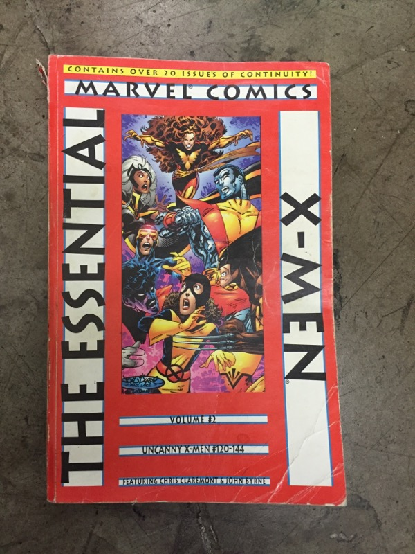 THE ESSENTIAL X-MEN VOLUME 2