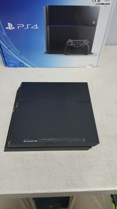 Sony Playstation 4 (PS4) 500gb Jet Black Console (CUH-1115A)