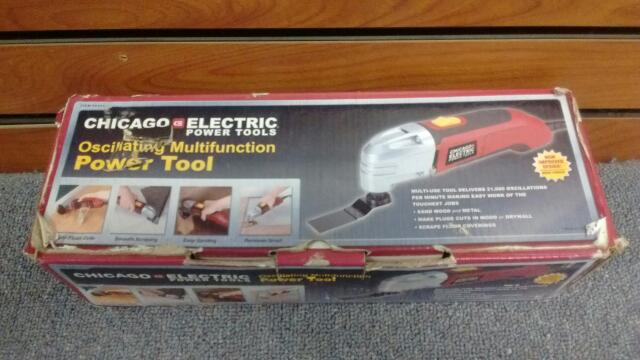 Chicago Electric Corded Electric Oscillating Multifucntion Power Tool 68303