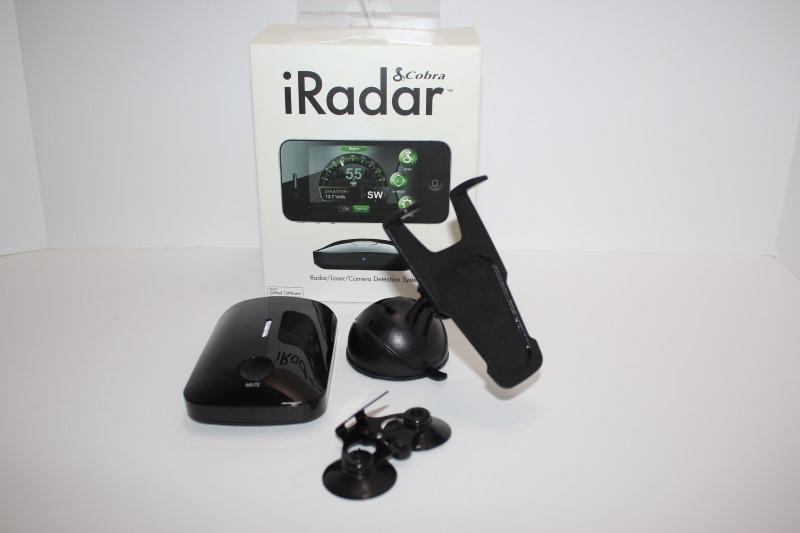 COBRA Radar & Laser Detector IRADAR