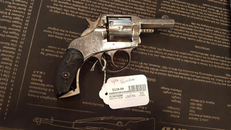 HARRINGTON & RICHARDSON Revolver THE AMERICAN DOUBLE ACTION