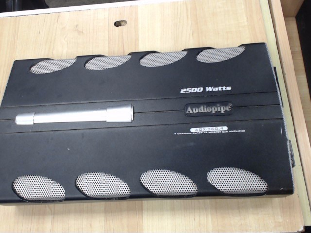AUDIO PIPE Car Amplifier AQX-360.4