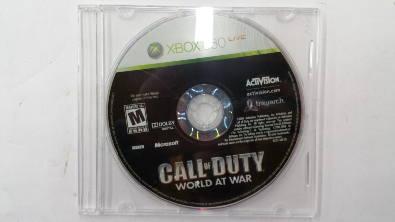 Call of Duty: World at War for Xbox 360