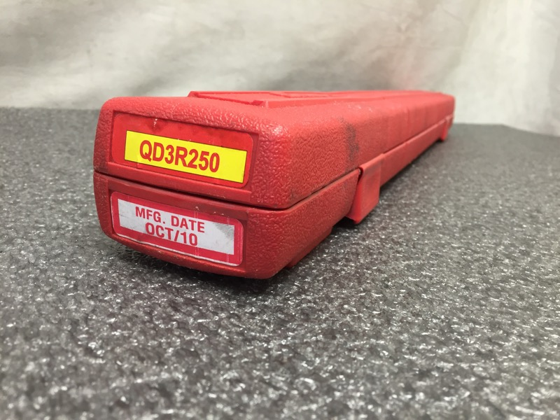 SNAP ON QD3R250 50-250 FT LB TORQUE WRENCH (2010)