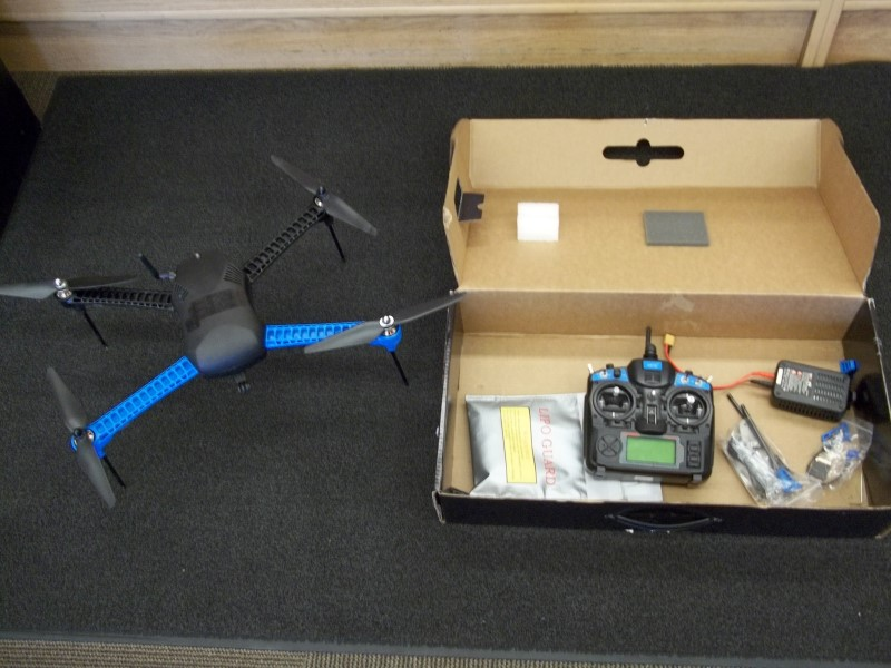 3DR IRIS+ MULTICOPTER WITH GO PRO MOUNT