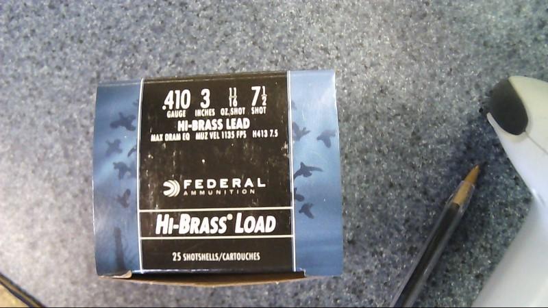 FEDERAL AMMUNITION Ammunition 410 G